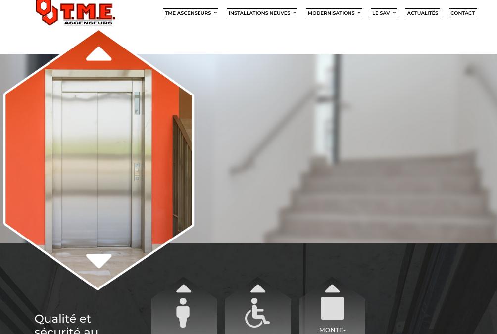 Lancement du nouveau site internet www.tme-ascenseurs.com !